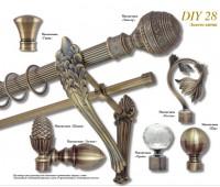 DIY Ø28 античное золото