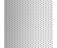 Алюминий 89 мм х 0,27, перфорация, металлик