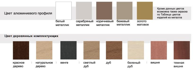 Цвет деревянных карнизов